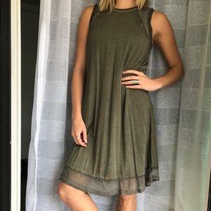 Loose fit tank dress